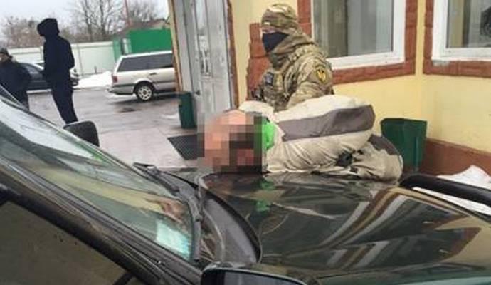 СБУ затримала контрабандистів при спробі ввезти в Україну 2 кг амфетаміну