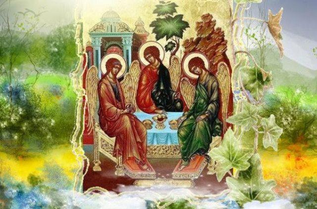 27 мая - православные христиане отмечают День Святой Троицы (2)