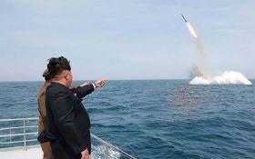 Появилось видео с новыми испытаниями ракет Северной Кореей