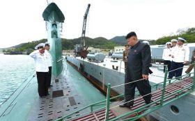 Северная Корея строит подводную лодку с баллистическими ракетами