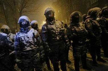 В новогоднюю ночь в центре Киева будут дежурить 3000 солдат и спецназовцев