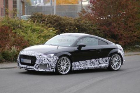 Audi TT-RS Coupe проходить тести у власному кузові (18 фото) (13)