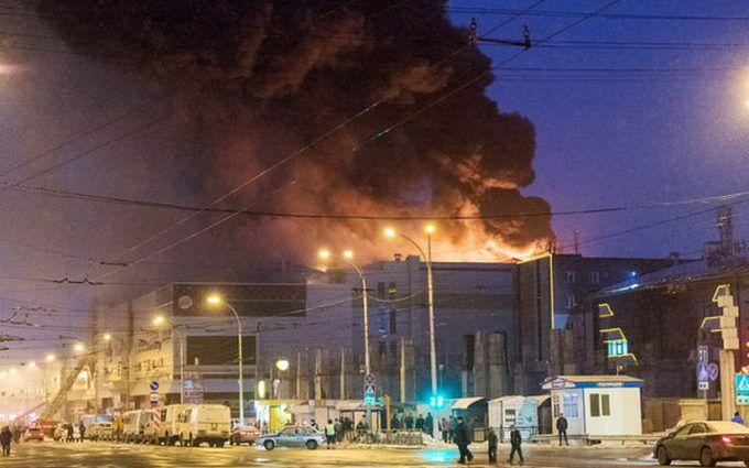 Пожар вКемерово: количество пострадавших возросло до 79