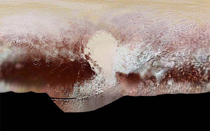 NASA смоделировал посадку наПлутон