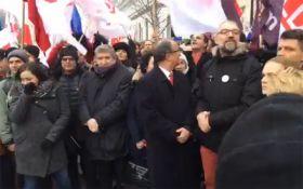 """""""Майдан"""" в Польщі: влада і опозиція роблять заяви, з'явилося нове відео"""