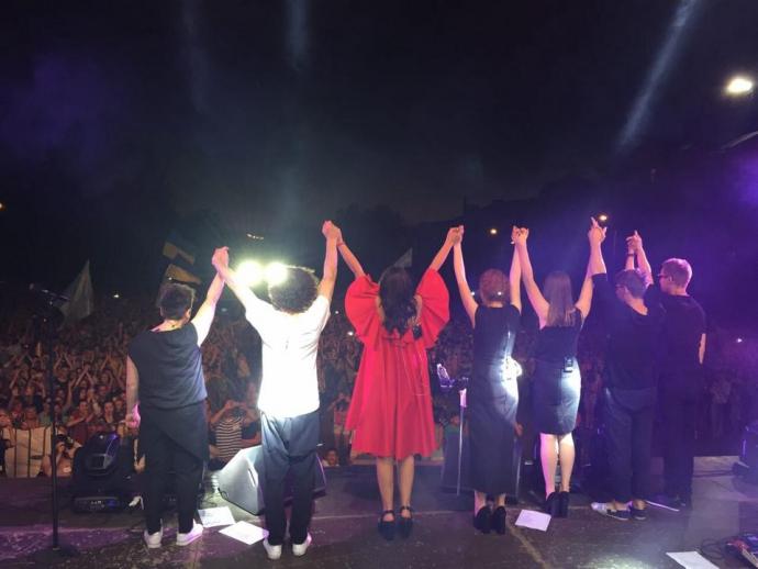 Джамала дала безкоштовний концерт на Донбасі: з'явилися фото (1)