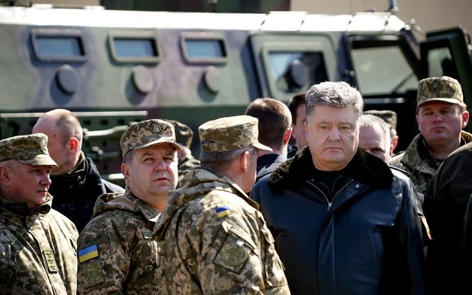 В сети показали фото подготовки к визиту Порошенко на Донбасс