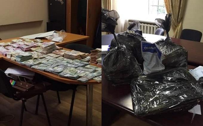 Як затримували поважного податківця в Києві: НАБУ показало яскраве відео
