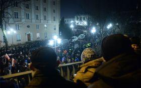 """""""Майдан"""" в столиці Польщі: з'явилися нові подробиці і відео"""