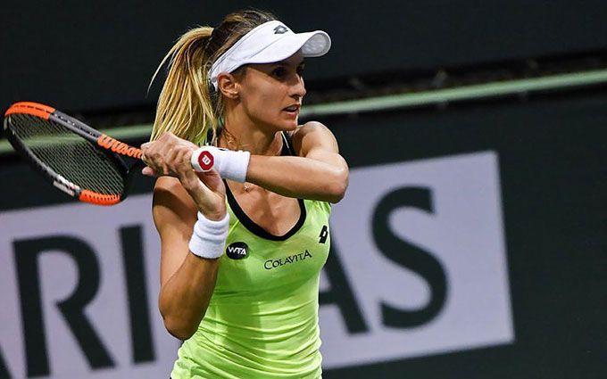 Украинская теннисистка разгромила россиянку на Roland Garros