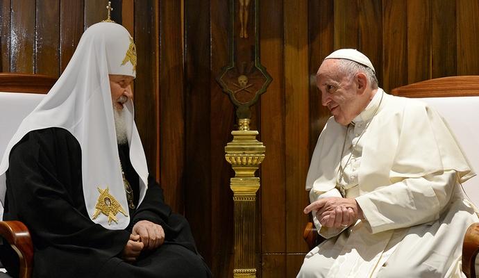 Глава РПЦ и Папа Римский подписали совместную декларацию