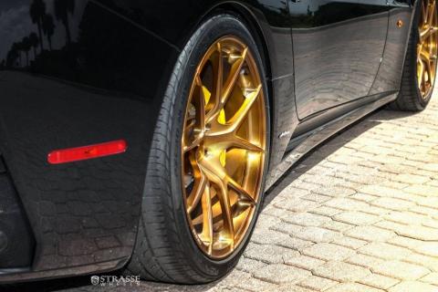 Ferrari California на дисках від Strasse Wheels (10 фото) (4)