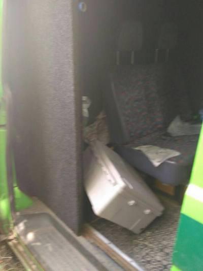 Напад на інкасаторів на Харківщині: з'явилися фото з місця інциденту (1)