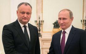 Президент Молдовы принял неожиданное решение после встречи с Путиным