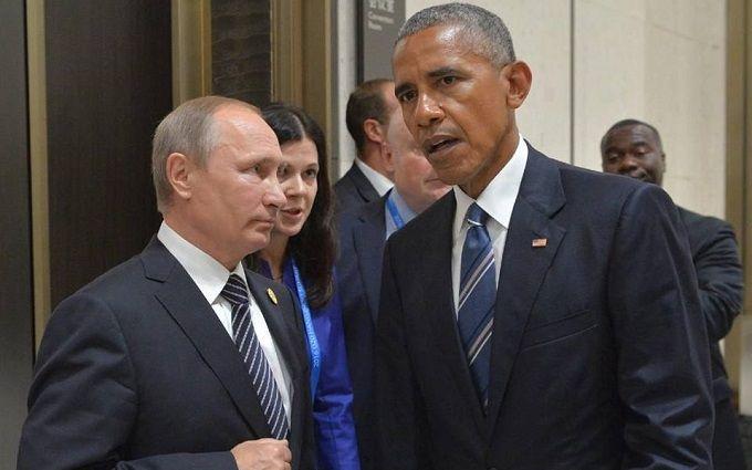 Зустріч біля туалету: в мережі висміяли фото Путіна з Обамою