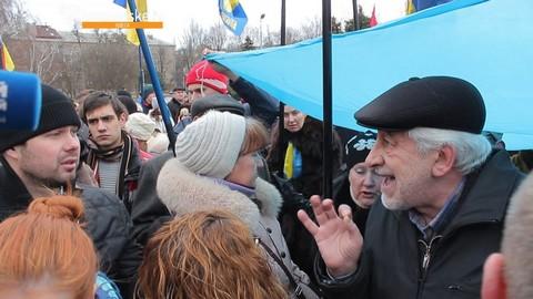 В Одессе произошла стычка из-за русского языка: опубликовано видео (1)