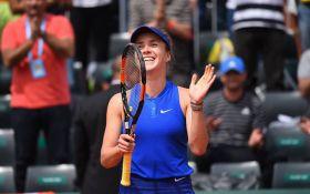 Украинская теннисистка феерически вышла в финал престижного турнира