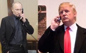 Телефонный разговор Трампа с Путиным: американские СМИ отметили отсутствие прорыва