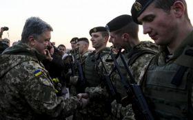 Порошенко наказав підвищити зарплату військовим, якщо Росія почне наземний наступ