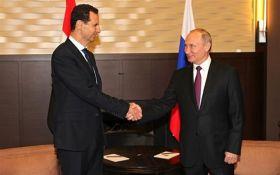 Перемовини двох диктаторів: Путін зустрівся з Башаром Асадом
