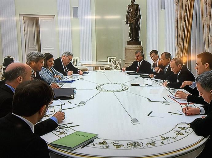 Путін зустрівся з Керрі: з'явилися фото і подробиці (1)
