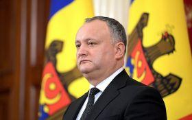Они пытаются возобновить конфликт в Приднестровье: Додон сделал громкое заявление