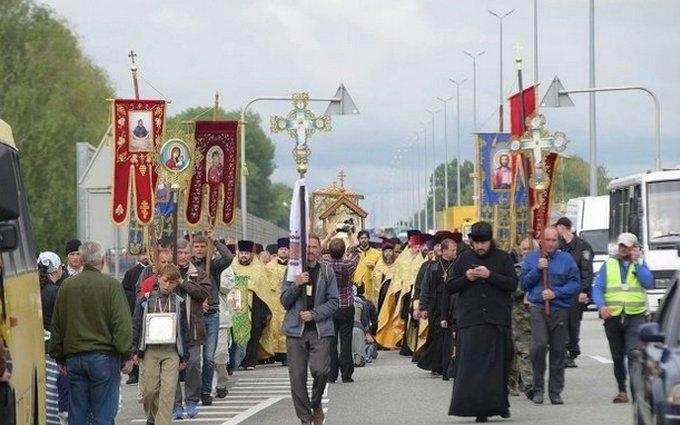 Крестный ход в Киеве: все подробности, фото и видео