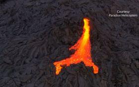 На Гавайях произошло извержение вулкана Килауэа: появилось впечатляющее видео