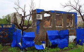 """""""Руський мир"""" на Донбасі: з'явилися фото руїни в селищі під Дебальцевим"""