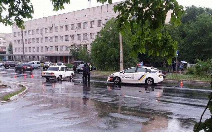 Нові патрульні на Донбасі потрапили в ДТП: опубліковані фото