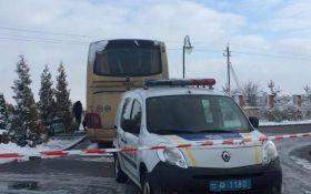 На Львівщині підірвали туристичний автобус з Польщі: з'явилися подробиці