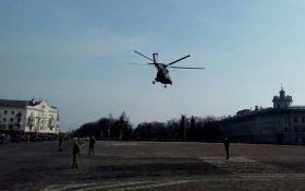 В Чернигове разгорается крупный скандал с генералом на вертолете: появились фото и видео