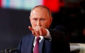 Путин вводит санкции против Украины