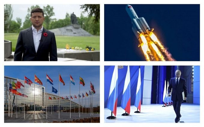 Головні новини 8 травня: послання Путіна українцям і рішення НАТО щодо України