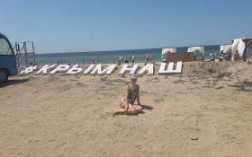 Пік несезону: в мережі показали нові фото порожніх пляжів в окупованому Криму
