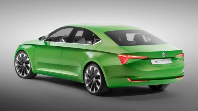 Skoda покажет дизайн будущих машин в Женеве (2)