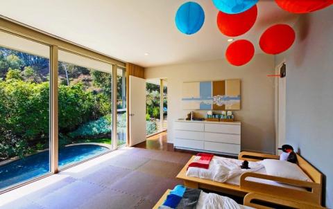 Круті ідеї, який допоможуть з оформленням дитячої спальні в стилі Mid-centry modern (17 фото) (13)