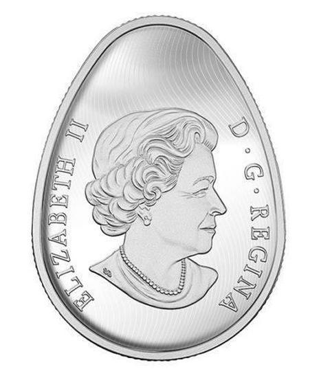 В Канаде выпустят монеты в форме украинской писанки (3)