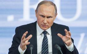 Якесь хамство: Путін різко відреагував на санкції США