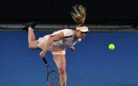Свитолина потерпела поражение в Australian Open