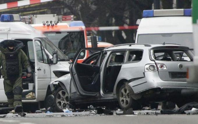 Появились подробности взрыва автомобиля на западе Берлина: опубликовано видео