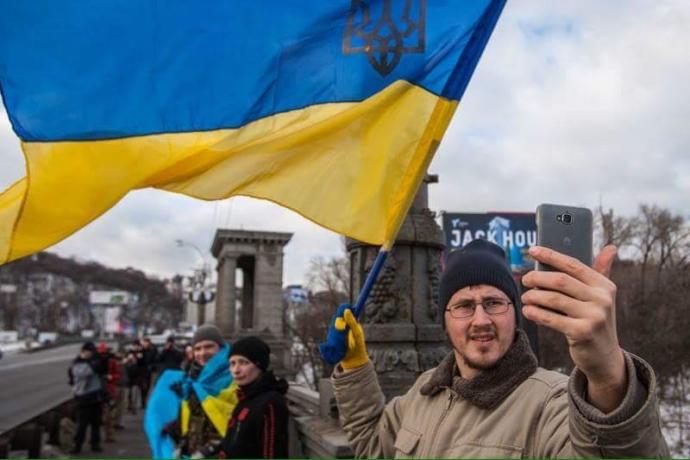 День соборности в Киеве: появились яркие фото (2)