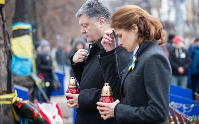 В Киеве чествуют героев Небесной Сотни