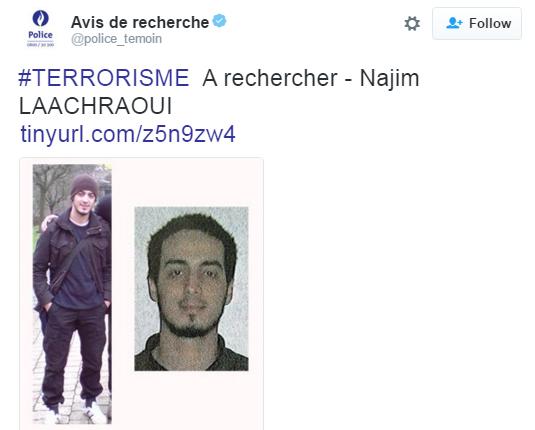 Названо имя третьего террориста из Брюсселя: опубликованы фото (1)