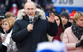 """У Москві на мітингу Путіна вигукнули """"Слава Україні"""": опубліковано відео"""