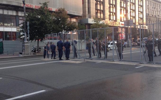 Стало відомо, яку охорону виділили хресній ході у Києві