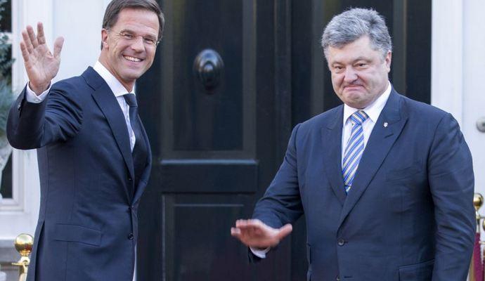 Правительство Нидерландов предлагает поддержать на референдуме свободную торговлю с Украиной