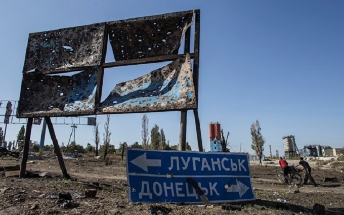 """""""Русскій мір"""" погасив Донбас: з'явилися фото з супутника"""