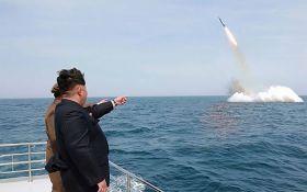 У КНДР повідомили, що запуск балістичної ракети був успішним