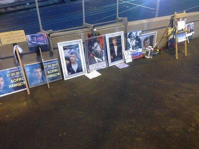 В Москве снова разгромили Немцов мост: опубликовано фото (1)